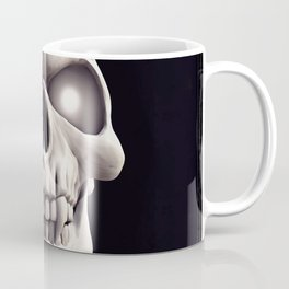 Skull with glowing eyes Coffee Mug