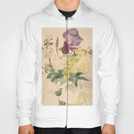 Edouard Manet - Flower Piece with Iris, Laburnum, and Geranium Hoody