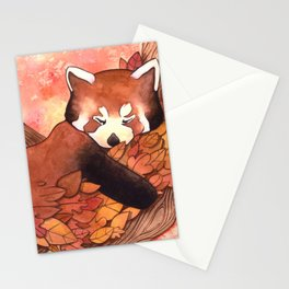 Cute Red Panda Stationery Cards