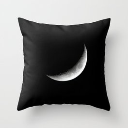 Crescent. Throw Pillow