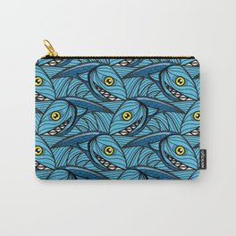 Escher Fish pattern III Carry-All Pouch
