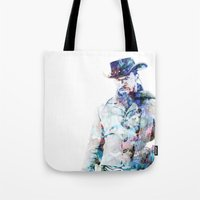 django Tote Bags featuring Django by NKlein Design