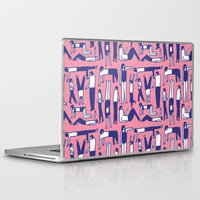 kim sy ok Laptop & iPad Skins featuring OK by Regina Rivas Bigordá