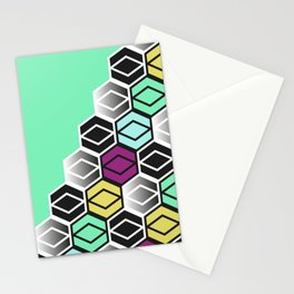 HexagonWall Stationery Cards