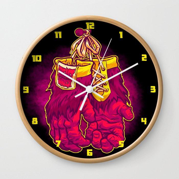GORILLA GLOVES Wall Clock