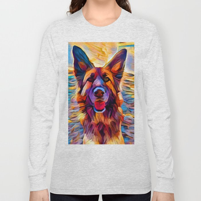 German Shepherd 8 Long Sleeve T-shirt