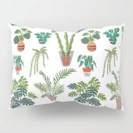 flowerpots pattern Pillow Sham