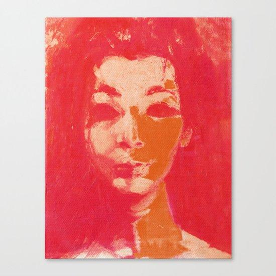 Colorful Woman 1 Canvas Print
