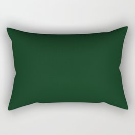 Simply Pine Green Rectangular Pillow