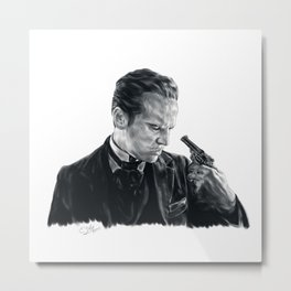 Victorian James Moriarty Metal Print