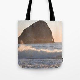 CAPE KIWANDA SUNSET - OREGON Tote Bag