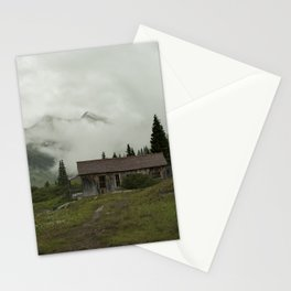 Mountain Cabin Stationery Cards