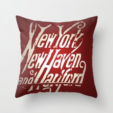 Railroad Museum Throw Pillow