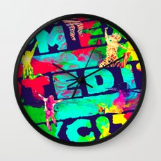 I'm Excited Wall Clock
