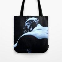 bane Tote Bags featuring BANE by John McGlynn