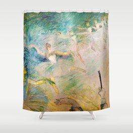 """Henri de Toulouse-Lautrec """"Ballet dancers"""" Shower Curtain"""