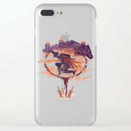 Abysswatchers Clear iPhone Case