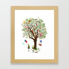 Algarrobo Tree Framed Art Print