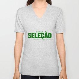 Brasil (World Cup 2018) Unisex V-Neck