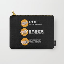 Foil Saber Epee | Fencing Carry-All Pouch