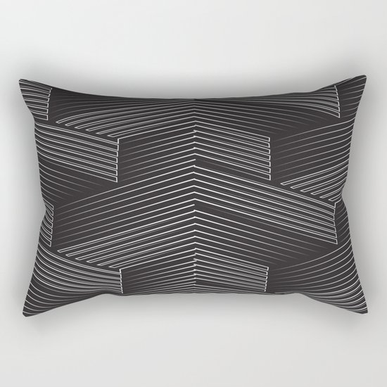 Talk It Out Rectangular Pillow