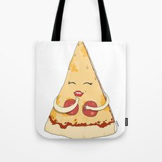 Sexy Pizza Tote Bag
