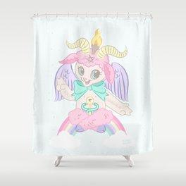 Born Again Satanist Shower Curtain