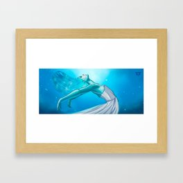 And I will try to fix you ♫ Framed Art Print