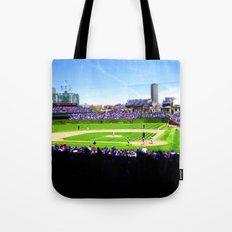 Wrigley Field Tote Bag
