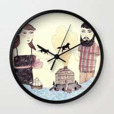 Giving Wall Clock