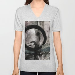 Enso Of Zen No.4M by Kathy Morton Stanion Unisex V-Neck