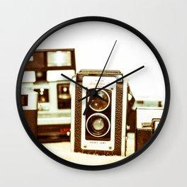 Vintage Camera Love Wall Clock