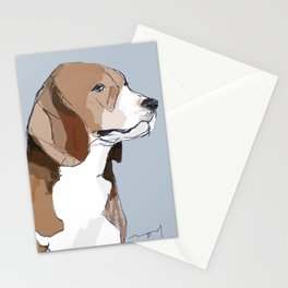 Beagle Stationery Cards