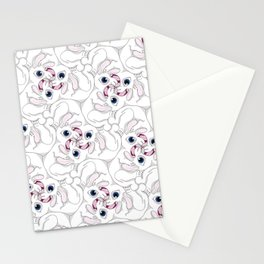 Rabid Rabbits Tessellation Stationery Cards