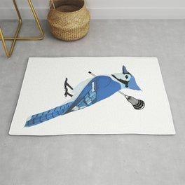 Lacrosse Blue Jay Rug