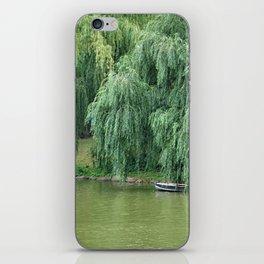 Lakeside Boat iPhone Skin