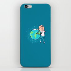 Earth Mother iPhone & iPod Skin