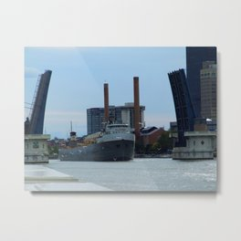 The Cuyahoga Metal Print