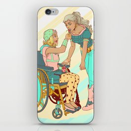 Gyro and Johnny iPhone Skin