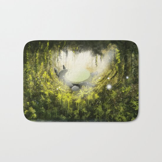 Totoro's Dream Bath Mat