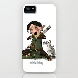 The Littlest Blood Mage iPhone Case