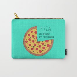 Pizza Pie Chart Carry-All Pouch