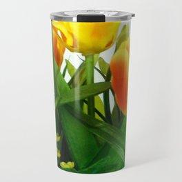 Orange Tulip Travel Mug
