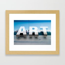 Running Art Framed Art Print