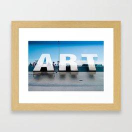 Running Art Framed Art Print