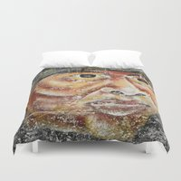 indian Duvet Covers featuring Indian by Lia Bernini