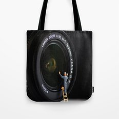 Keeping the Lenses Clean Tote Bag
