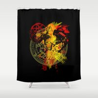 alchemy Shower Curtains featuring Alchemy by Coffeewatson