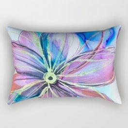 magical flower Rectangular Pillow