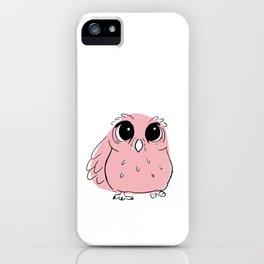 Pink Owl iPhone Case